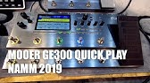 NAMM 2019   Mooer GE 300 - YouTube