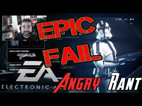 Angry Rant - WTF?! at the Loot Crates in Battlefront 2!