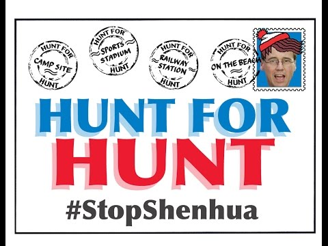 Join The Hunt For Hunt And #StopShenhua