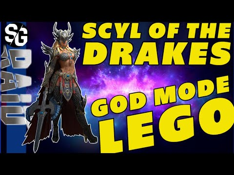 RAID SHADOW LEGENDS | GOD MODE! SCYL OF THE DRAKES GUIDE GAMEPLAY REIVEW