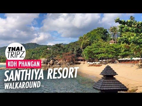 Santhiya Resort Walkaround - Koh Phangan - 4K