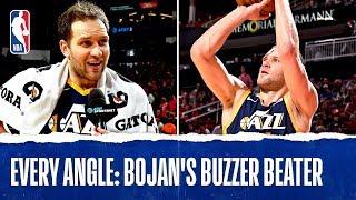 Every Angle Of Bojan Bogdanovic's Buzzer Beater | Feb. 9, 2020