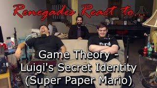 Renegades React to... Game Theory: Luigi's Secret Identity (Super Paper Mario)
