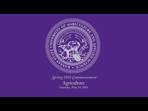 K-State Commencement - Spring 2016 | Agriculture