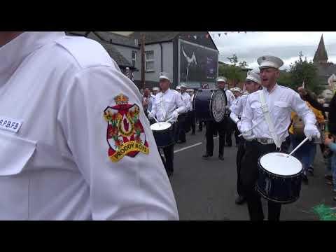 Ballymena Protestant Boys FB @ A.B.O.D Parade Londonderry 11-8-2018
