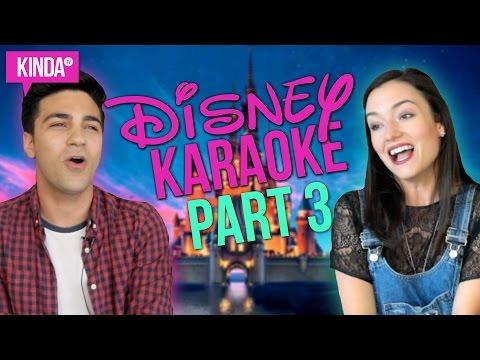 KARAOKE CHALLENGE PART 3 | DISNEY EDITION | w/ Daniel Coz | KindaTV ft. Natasha Negovanlis