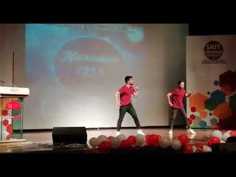 Fresher2k18(Nikhil n Shaurya) skit college,Jaipur