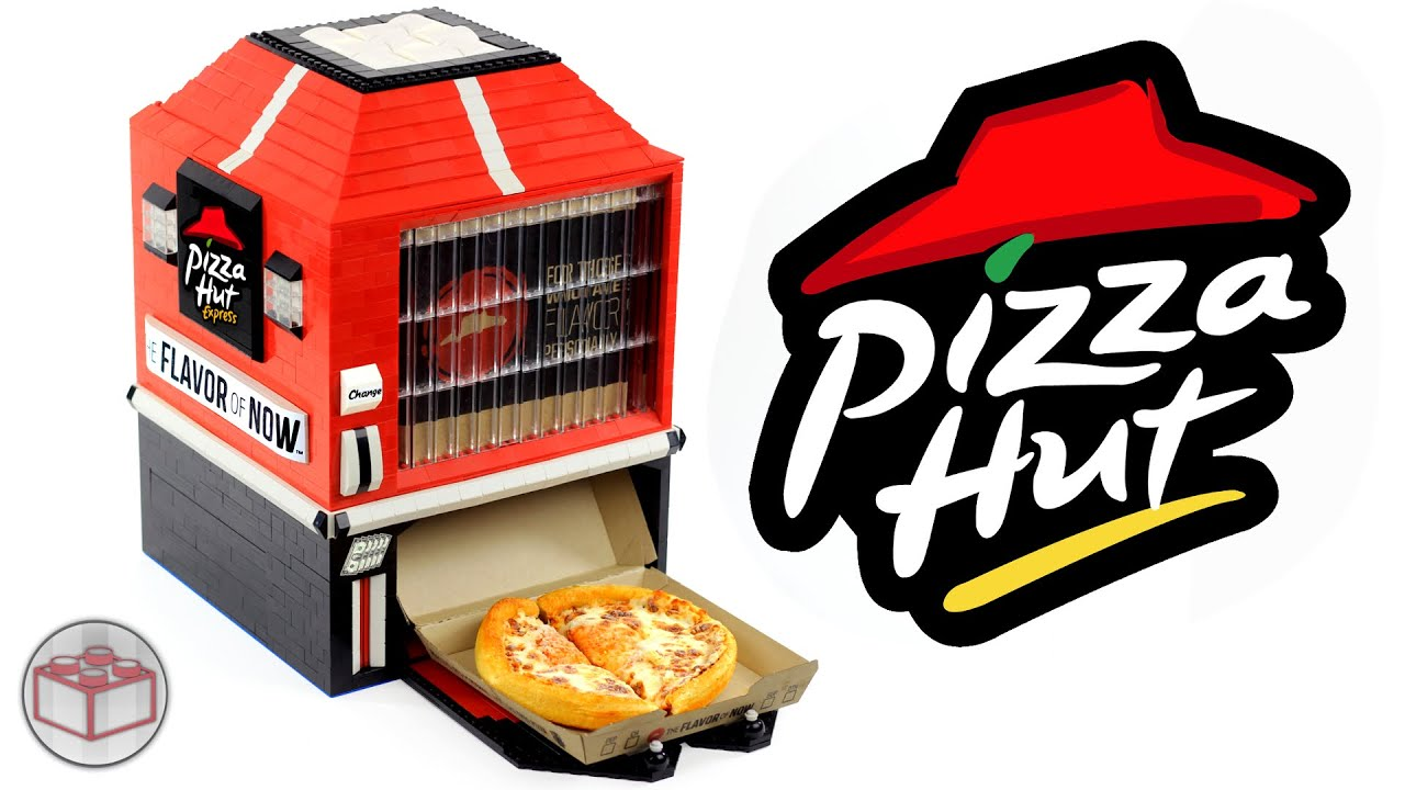 Lego pizza hut personal pan pizza machine youtube for Oficinas de pizza hut