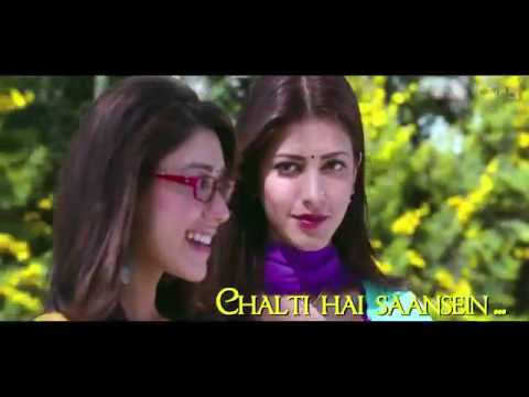 Jeene Laga Hoon Bollywood Sing Along Ramaiya Vastavaiya Girish Kumar Shruti Haasan10Youtube com