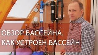 видео Система фильтрации бассейна: основные принципы работы