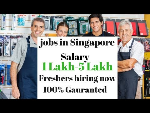 Salary 1,00,000 to 5,00,000 || General workers jobs in Singapore