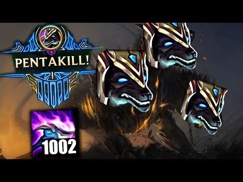 1000 STACKS NASUS - EZ PENTAKILL   2000 DMG on (Q) - League of Legends Compilation thumbnail