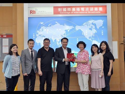 Temu Udara: CEO Telkom Taiwan Mr. Devy Parlindungan Siregar
