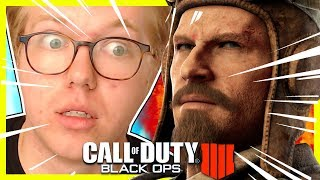 BLOOD OF THE DEAD GAMEPLAY TRAILER REACTION (Call of Duty Black Ops 4 Zombies Prologue Cinematic)
