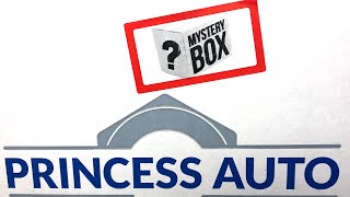 Princess auto mystery surplus unboxing LIVE