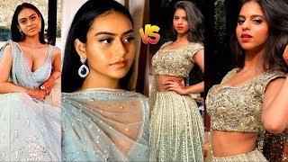 Ajay Devgan And Kajol's Daughter Nysa Devgan vs Shahrukh Khan's Daughter Suhana Khan!