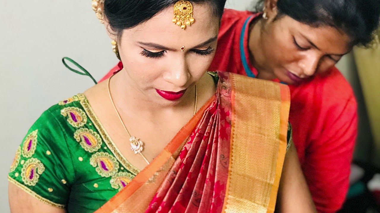 Baby Shower Makeup South Indian Youtube