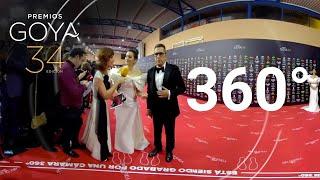 Andreu Buenafuente y Silvia Abril se enfrentan a la cámara 360º | Premios Goya 2020