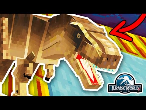 HE IS ALIVE!! TYRANNOSAURUS REX | Minecraft Jurassic World 2