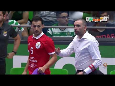 Liga Sport Zone (Play-off, 3.º Jogo da final ): Sporting CP 6 - 9 SL Benfica