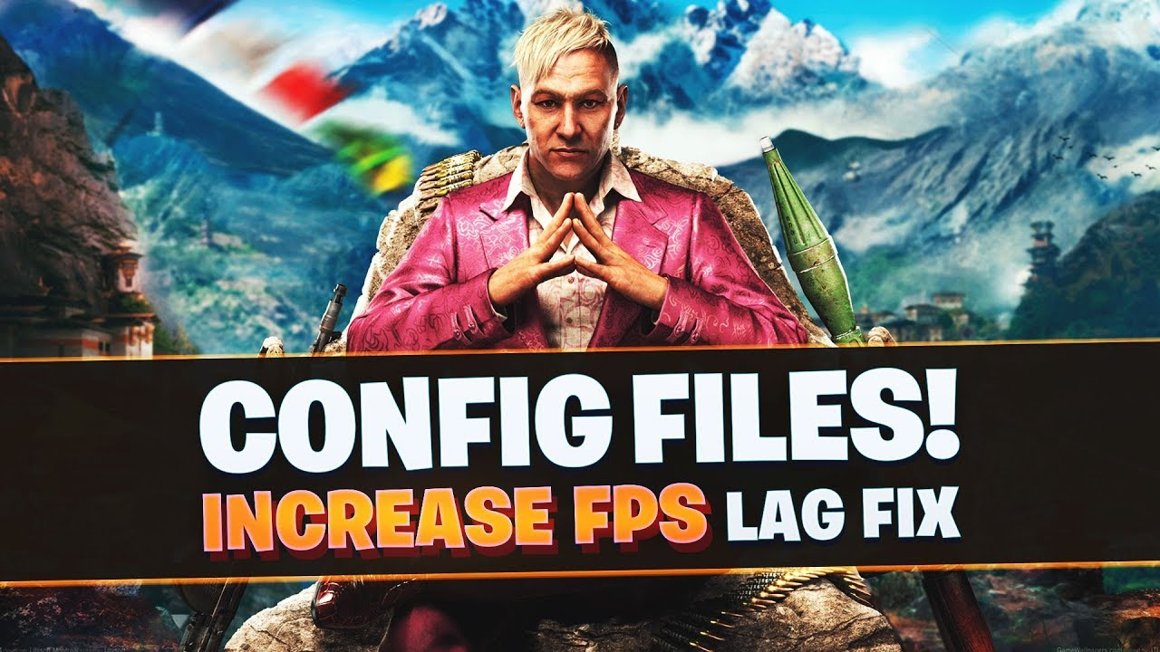 Far Cry 4 Low End PC's Config file
