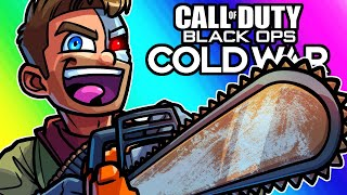 COD Black Ops Cold War Zombies - Brian's Got a Obnoxious Chainsaw! (Firebase Z Map)