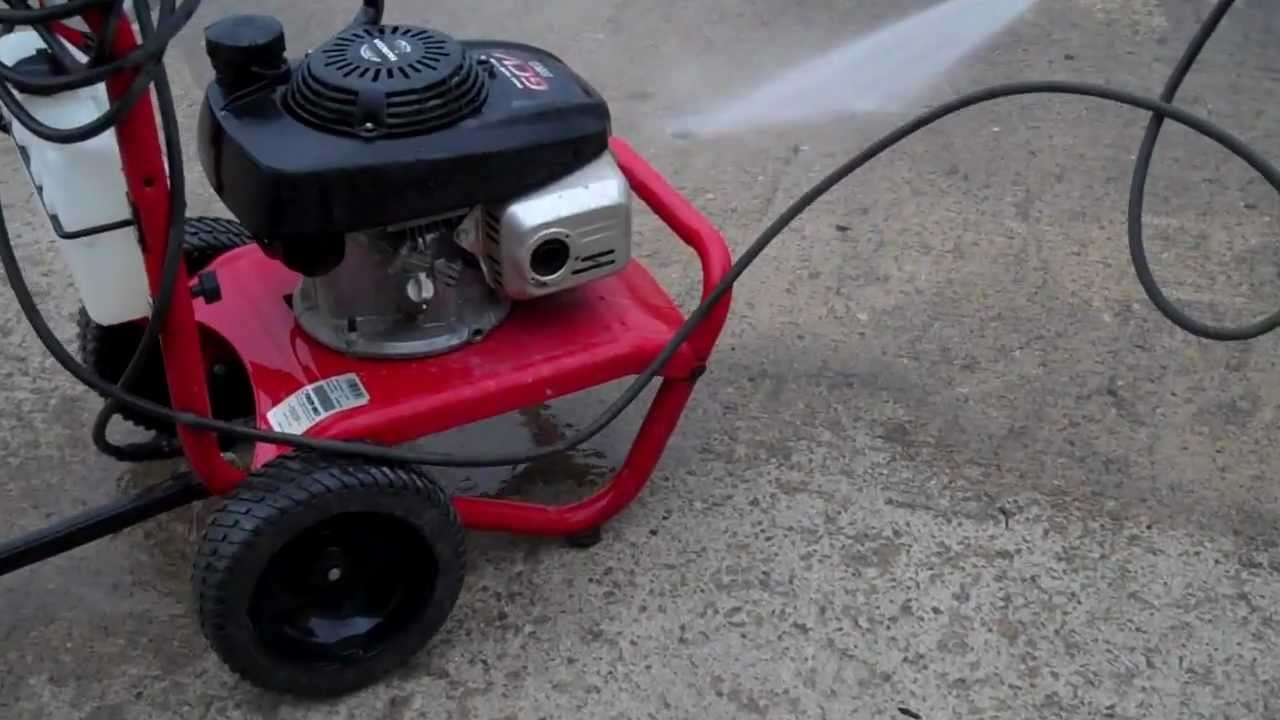 Troy Bilt Pressure Washer Tag 5177 Youtube