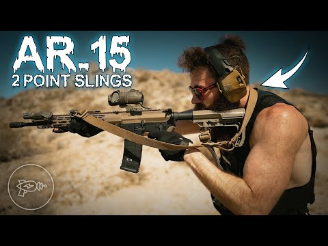 The Best AR-15 Two Point Slings: Weapon Manipulation Sans Groin Pain [Review]
