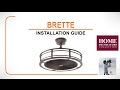 Brette Ceiling Fan Installation Guide