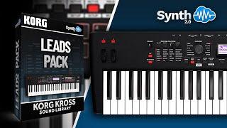 Korg Kross Monster Pack: Leads Pack + bonus DT Cover Packs
