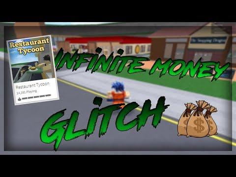 ROBLOX - Restaurant Tycoon Infinite Money Glitch! No Hacks