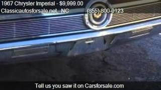 1967 Chrysler Imperial Lebaron for sale in Nationwide, NC 27 #VNclassics