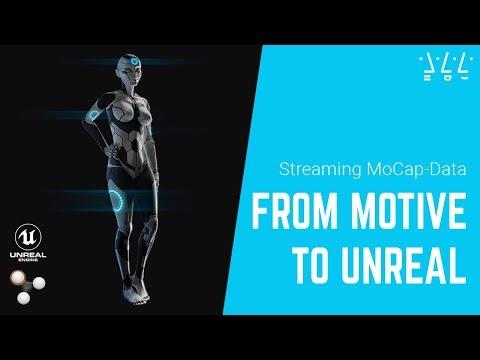 MoCap Tutorial   Skelett-Streaming Mit Motive Und Unreal