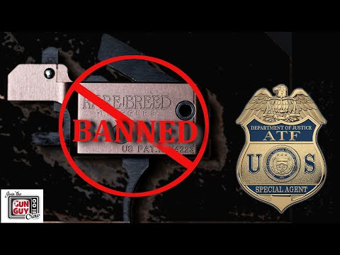 Retired AFT Agent Dan O'Kelly Says ATF is Wrong! - Rare Breed Trigger Is Legal.