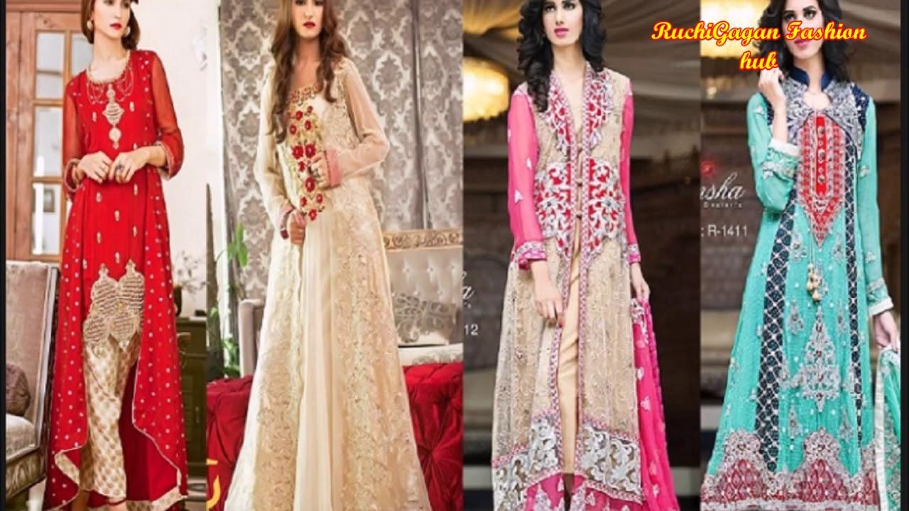 Designer Dresses For Girls लेडीज डिजाईन ड्रेस और सूट Youtube