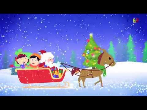 Cascabeles   Jingle Bells in English   villancicos populares