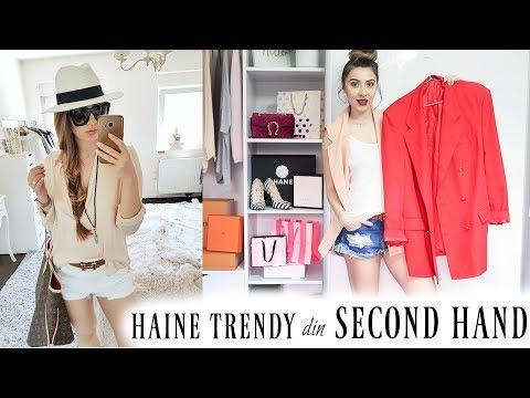Haine in trend din second hand   Zara, Esprit, Pimkie