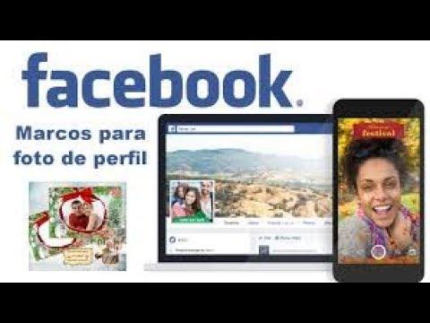 COMO CREAR UN MARCO PARA TU FOTO DE PERFIL EN FACEBOOK - YouTube