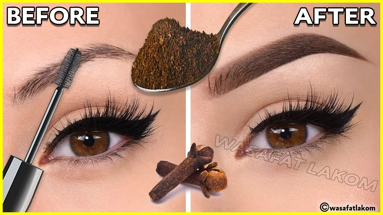 You will not believe!! thick, strong eyebrows from the first week,👌simple and effective ingredients