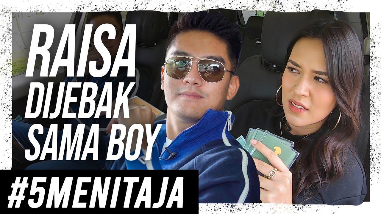 REAKSI RAISA DIJEBAK SAMA PERTANYAAN BOY! | #5MENITAJA