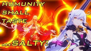 Honkai Impact 3 : Epic salt for the queen!! (100+ gacha pull)