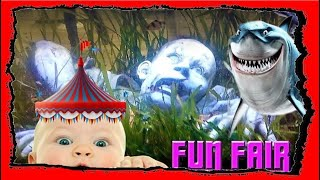 Little Giulia on the rides and then pet shop -  Funny Baby 2019 - Shopping center Vulcano Buono