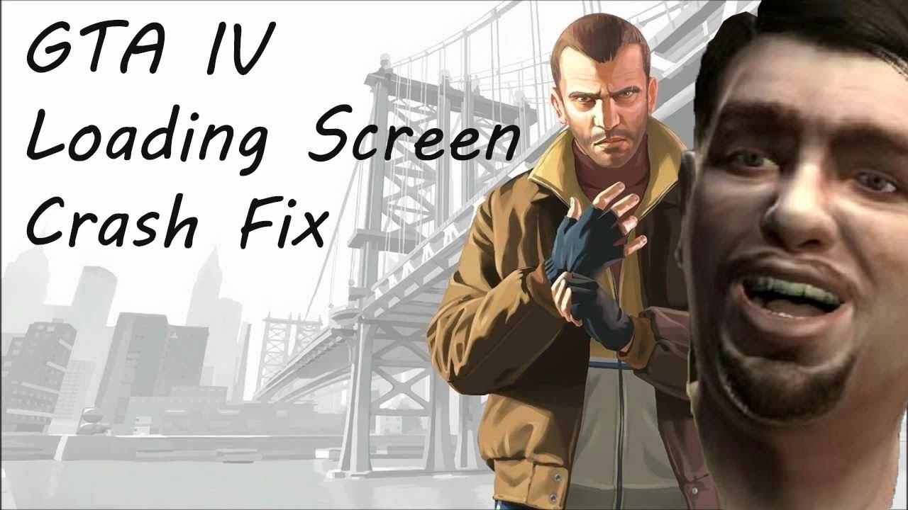 GTA IV how to fix loading screen crash 2019