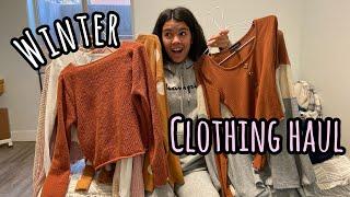 2019 WiNTER clothing HAUL!