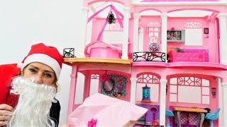 Nicoles Grüne Box - Der Weihnachtsmann verteilt Geschenke