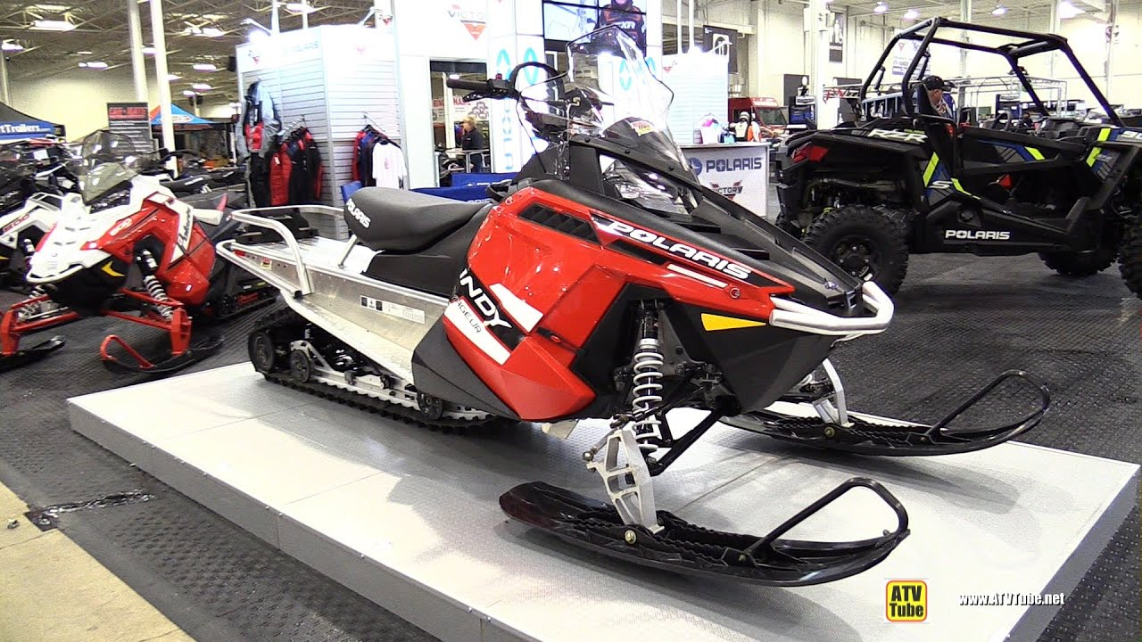 Side By Side Atv >> 2015 Polaris 550 Indy Voyageur 155 Sled - Walkaround ...