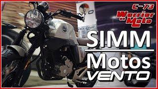 Las nuevas motos de Vento en el SIMM - Parte 1 - Warrior En Moto - Motovlog 73