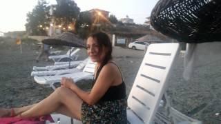 Akarca Sahilinde Bir Akşam (Gemisuyu Plajı) Agustos 2015