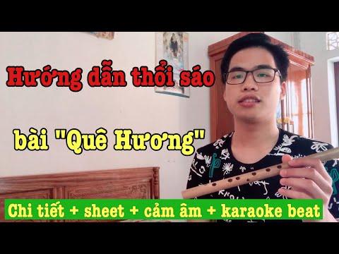 Hướng Dẫn Thổi Sáo Bài Quê Hương | Trần Thanh Tùng