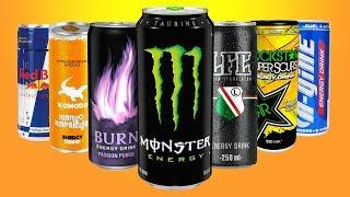 Zmieszaliśmy wszystkie ENERGETYKI - jak to smakuje?